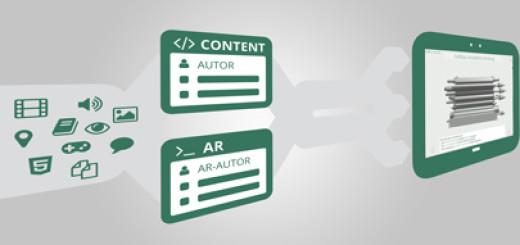 Verknüpfung von Content- und AR-Autoren in der Autorenumgebung der SAL-Lernanwendung