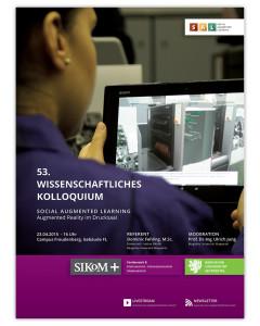 Plakat 53. Wissenschaftliches Kolloquium