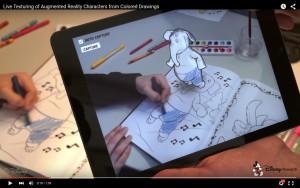 Disney 3D-Malbuch