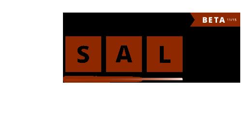 SAL Logo mit Beta-Logo-Etikett 2015