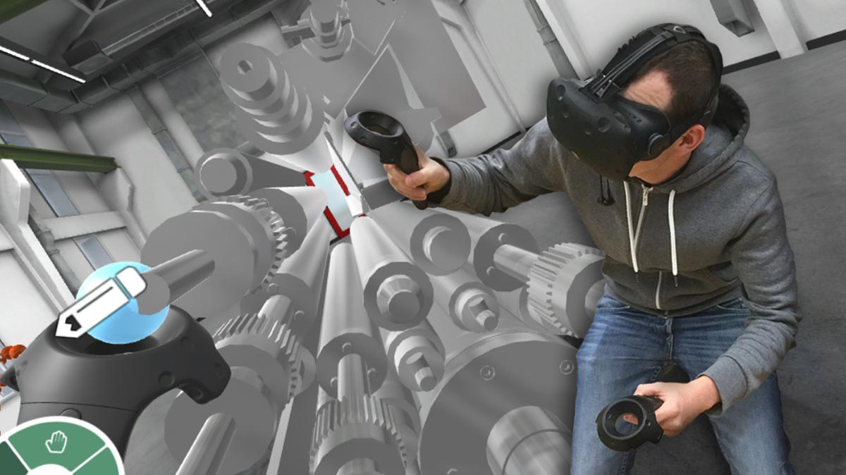 Erkunden der Virtuellen Realität