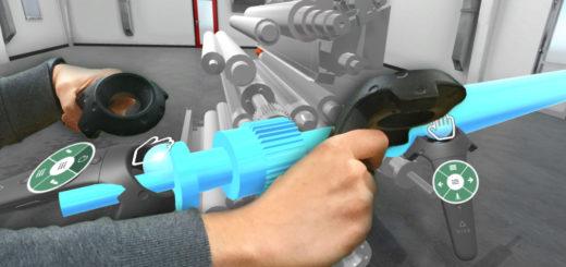 Greifen in der Virtuellen Realität