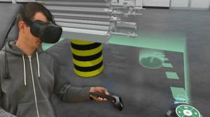 Teleportieren in der Virtual Reality