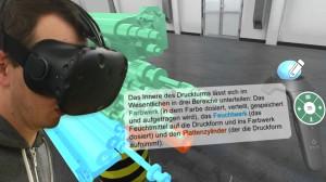 Lesen in der Virtual Reality