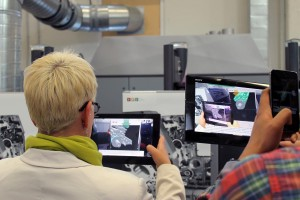 Tablets im AR-Modus