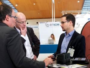 Thomas Hagenhofer, Jochen Robes und Dominic Fehling
