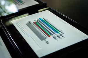 Tablet mit SAL-Lernanwendung